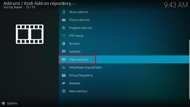 Install Crackle on Kodi Step 4