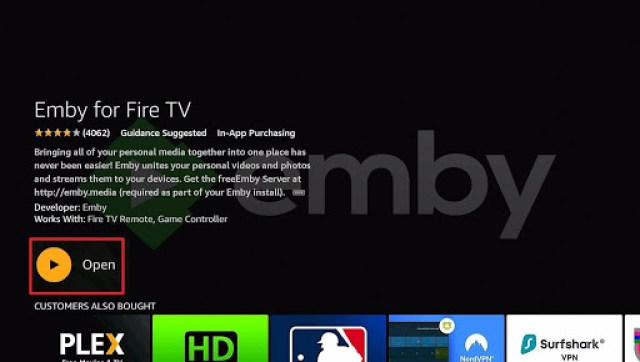 Install Emby Directly on Firestick Step 9