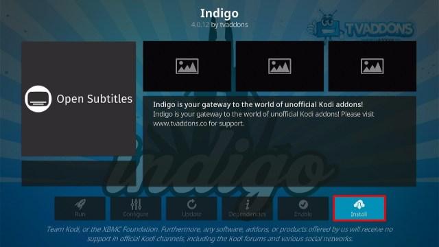 Install the Fresh Start Kodi Addon Step 2
