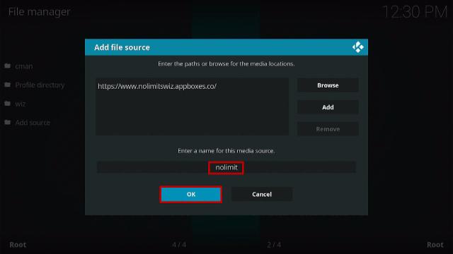Step 9 Install No Limits Magic Kodi Build