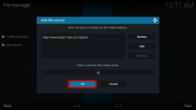 Step 9 Install Zilt Kodi Build