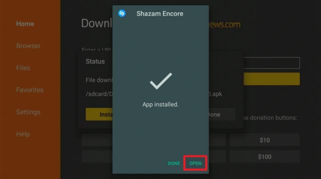 Install Shazam Encore 3