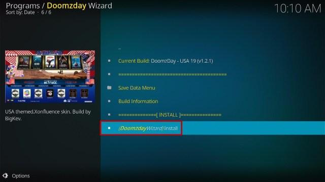 Install USA Kodi Build Step 24