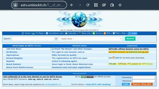 EZTV Firestick 4