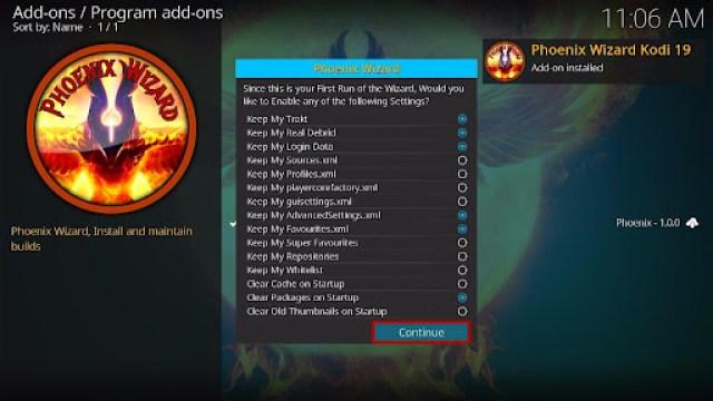 Install SteamPunk Kodi Build 23