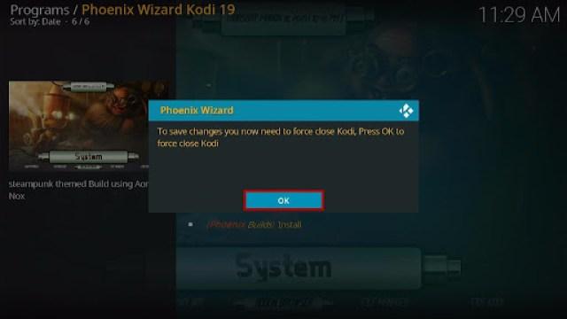 Install SteamPunk Kodi Build 33