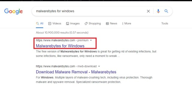 Malwarebytes Windows 3