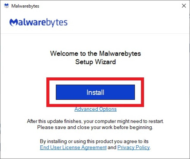 Malwarebytes Windows 8