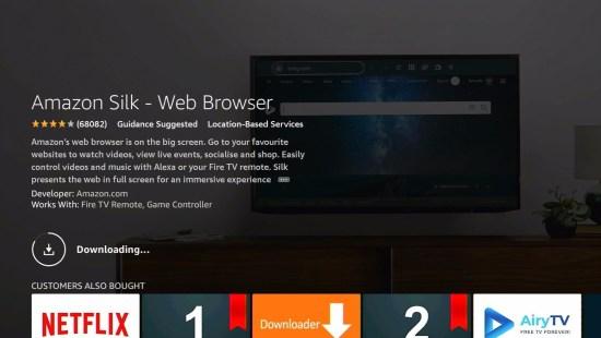 Silk Browser Install 7