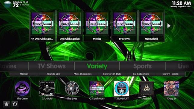 Install Green Monster 19 Kodi Build 33