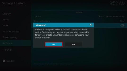 Install Unchained Horror Kodi Addon 4