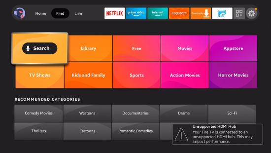 Install YouTube TV App on your Fire TV stick step 3