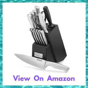 Cuisinart 15-Piece Stainless Steel Hollow Handle Block Set