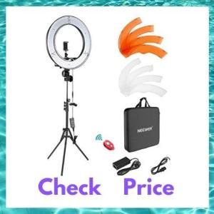 Neewer Ring Light Kit 18 inch with stand