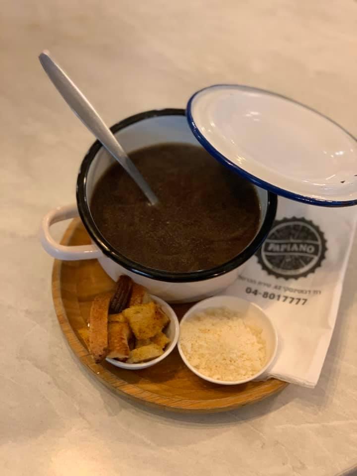 פאפיאנו מרק בצל