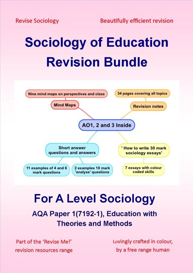 sociology education revision