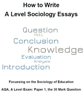30 marks – ReviseSociology