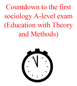 sociology exam 2018