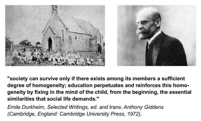 Durkheim Education