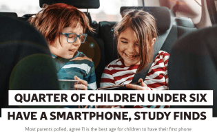 Do 25% of children really have their own mobiles? Invalid Research Example #01