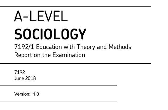 AQA sociology examiner report 2018.png