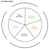 Wellness Wheel Worksheet - Kidz Activities