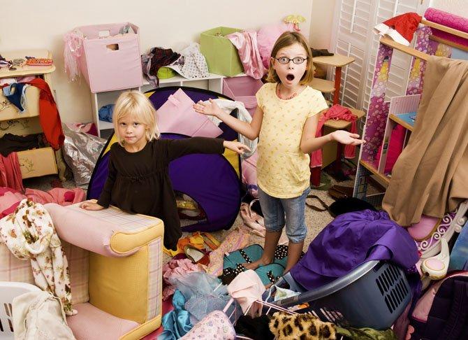 Беспорядок в доме