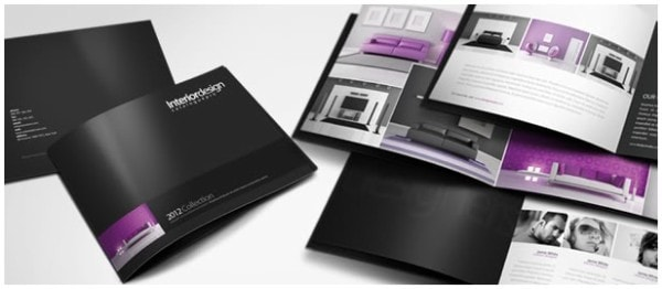 An example of a catalogue. Image credit graphicriver.net
