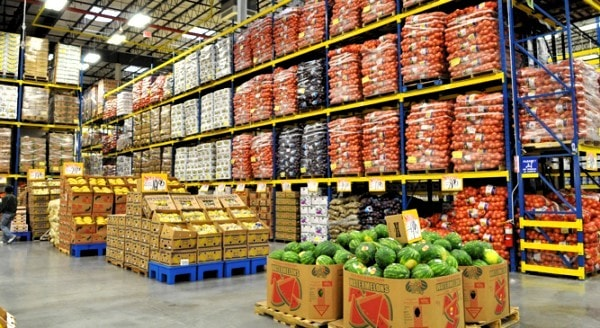 Large scale retailer's warehouse. Image credit www.restaurantdepot.com