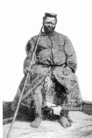 Gungunyana the last king of the Shangane. Image credit Mediawiki