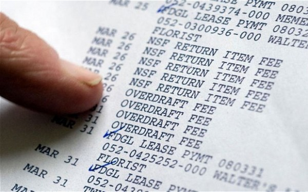 Business often make use of Overdrafts. Image credit telegraph.co.uk
