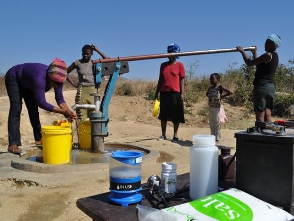 The popular Type B bush pump. Image credit blog.path.org