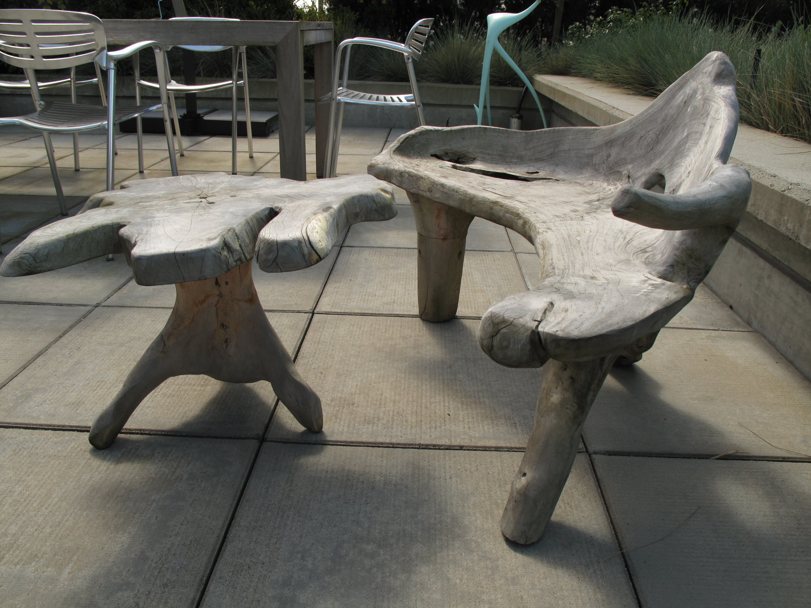 Driftwood Chair For Sale Custom Driftwood Outdoor Chair 43 Table