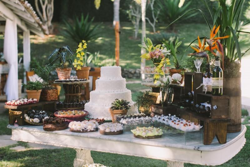 Decorao de casamento  Mini Wedding