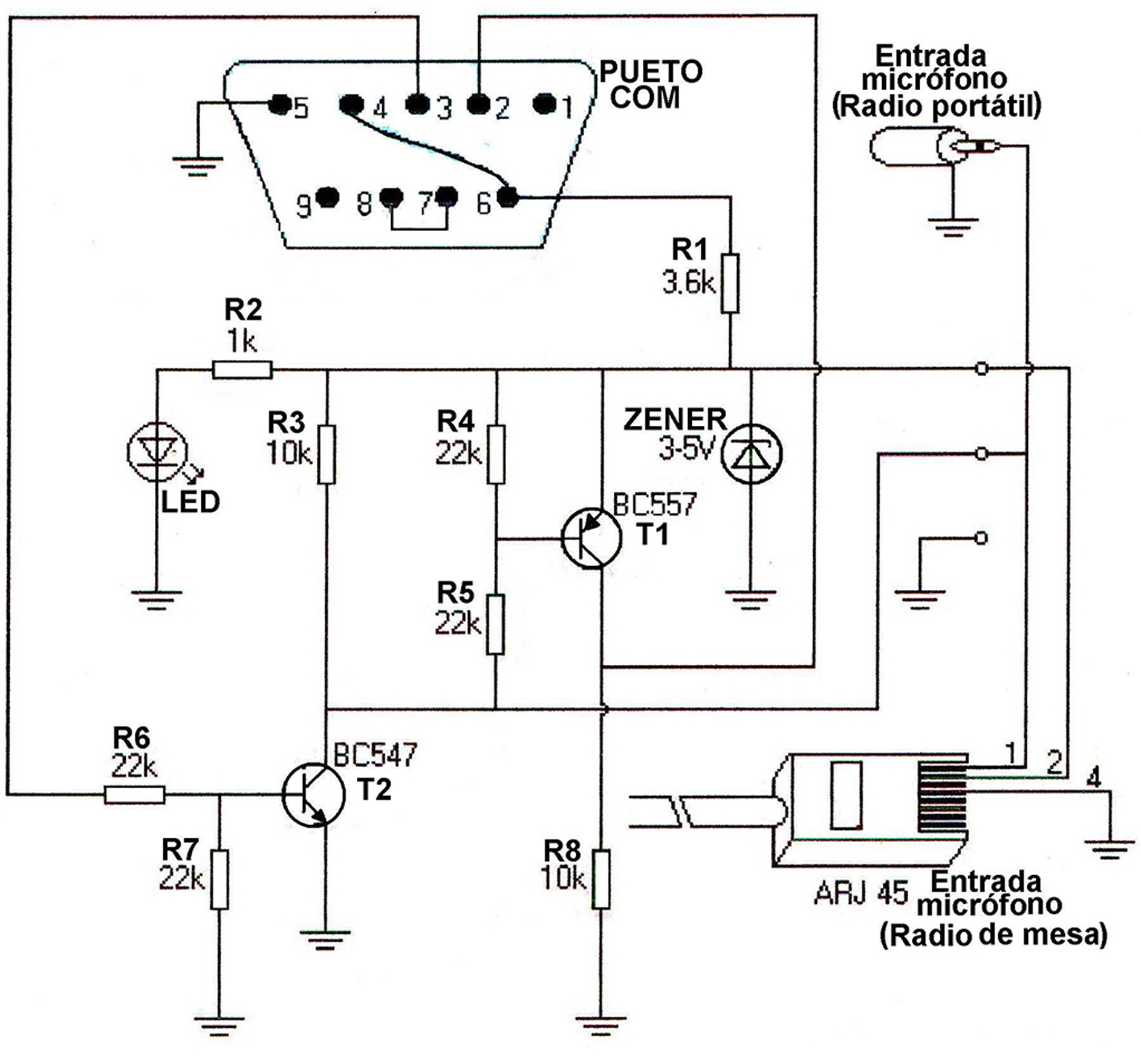 Interfaz Para Programar Radios Vertex Por El Puerto Com