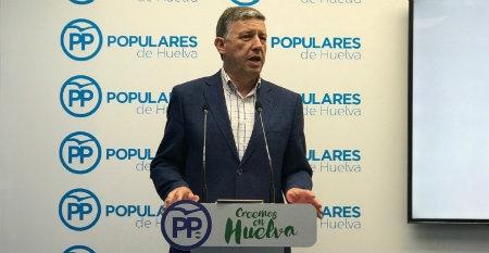 """Cristóbal Rojas: """"Carmelo Romero (PP) está nervioso porque va a tener que dar explicaciones del 'chiringuito' de contratos a dedo que tiene montado"""""""