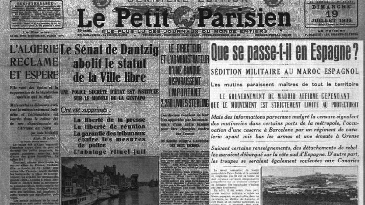 18 de Julio, relato de un golpe de Estado
