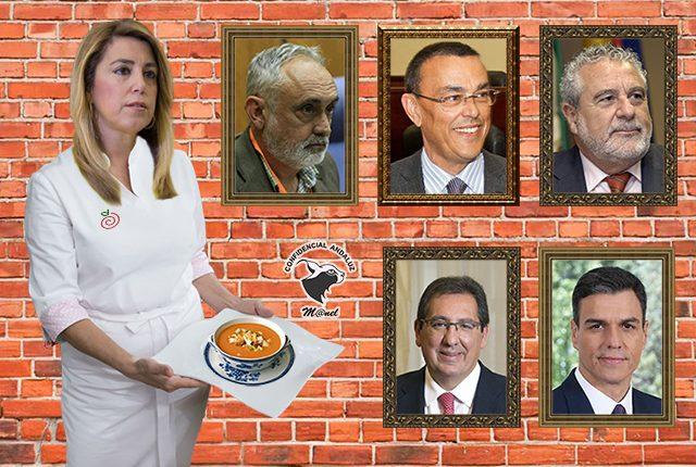 Pepinos amargos en el gazpacho andaluz de Susana
