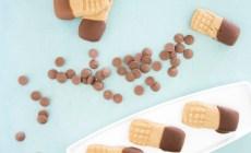 Receta de galletas de crema de cacahuate y chocolate