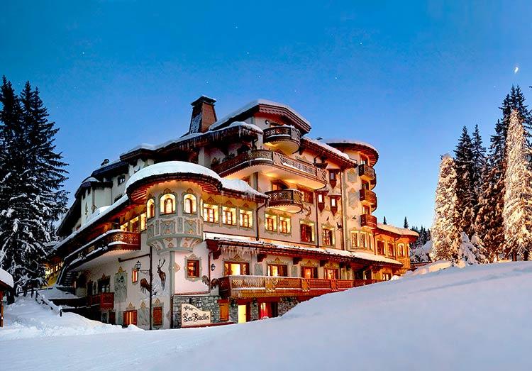 Les airelles, uno de los mejores hoteles de navidad