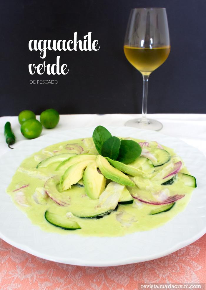 receta de aguachile verde de pescado
