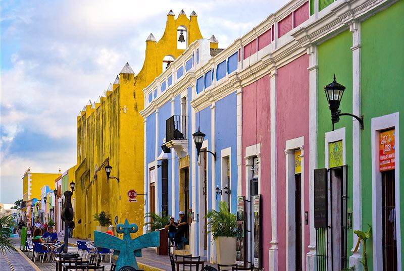 campeche, ciudades antiguas de mexico