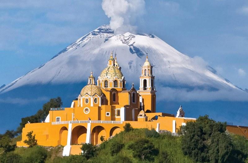 Cholula, ciudades antiguas de mexico