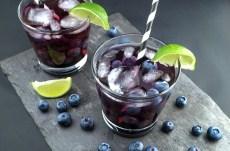 Vodkaberry vodka con moras azules