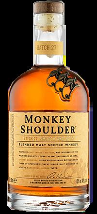 Monkey shoulder, la bebida del mes de febrero