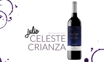 Julio: Celeste Crianza