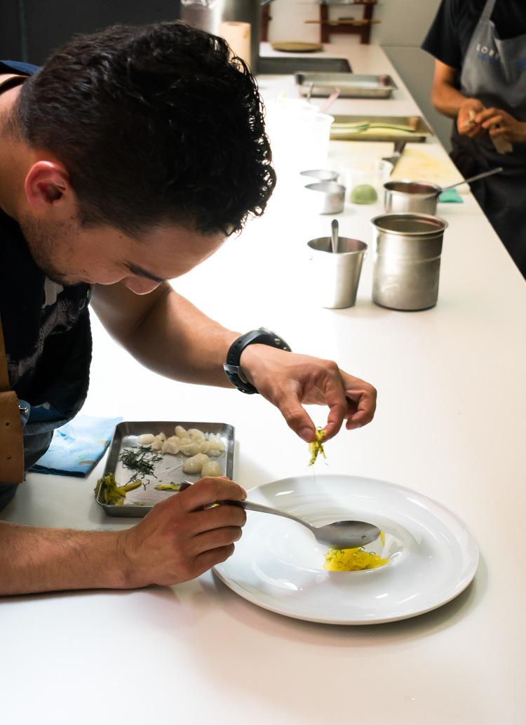 Restaurante Lorea - Reportaje en Revista Maria Orsini