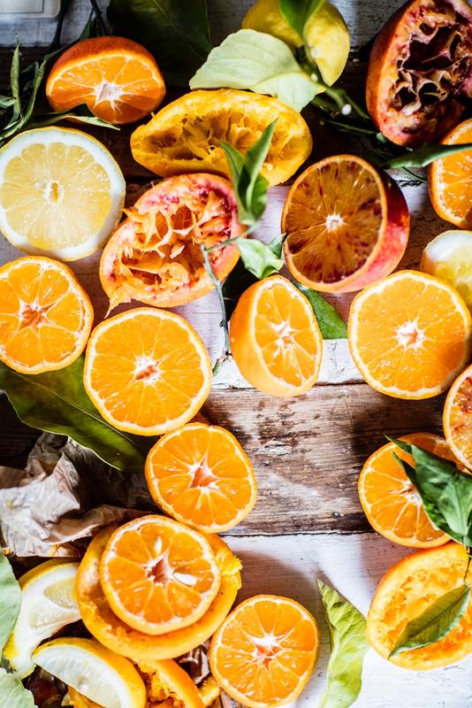 La naranja, fruto de sol