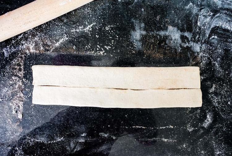 Orejitas de hojaldre con canela - Receta de Revista Maria Orsini