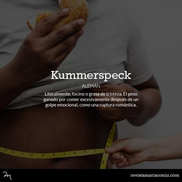 Kummerspeck - Palabras deliciosas sin traducción